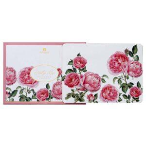 Ashdene Dining Kitchen Heritage Rose Cork Back Placemats Set 6