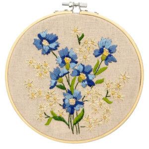 Make It Printed Embroidery Primula Hand Stitching Kit