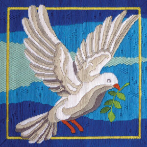 Country Threads Long Stitch Kit White Dove Including Threads