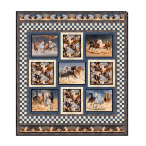 Quilting Sewing Patchwork Quilt Pattern Brumbies Wild and Free