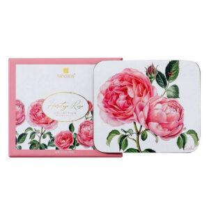 Ashdene Dining Kitchen Heritage Rose Cork Back Coasters Set 4