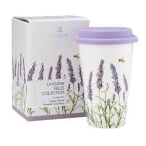 Ashdene Travel Tea Coffee Lavender Fields Collections Mug Cup