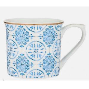 Elegant Kitchen Tea Coffee Lisbon Flare Mug Cup with Giftbox