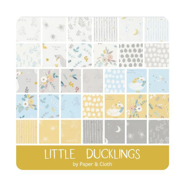 Moda Quilting Charm Pack Little Ducklings 5 Inch Sewing Fabrics