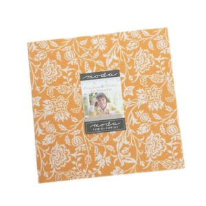 Moda Quilting Patchwork Pumpkins & Blossoms Layer Cake 10 Inch Fabrics