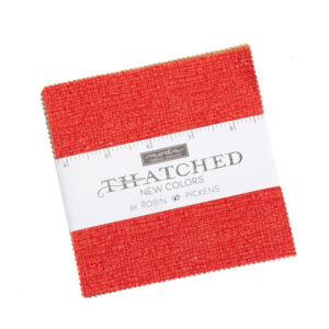 Moda Quilting Patchwork Charm Pack Thatched 5 Inch Sewing Fabrics