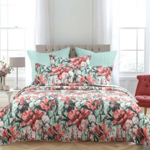 French Country Patchwork Bed Quilt Chloe Coverlet Assorted Sizes