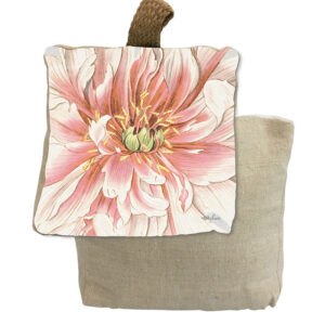 French Country Doorstopper Vintage Floral Flower Door Stop Weighted
