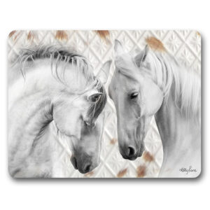 Kitchen Cork Backed Placemats AND Coasters Soul Horses Pair Set 6