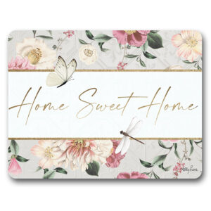 Kitchen Cork Backed Placemats AND Coasters Vintage Floral HSH Set 6