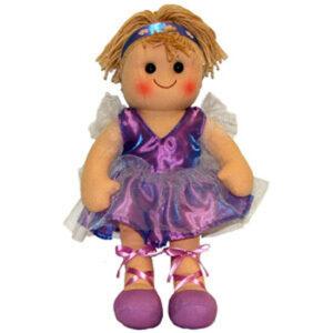 Hopscotch Soft Rag Doll Becky Dressed Girl Doll Large 35cm