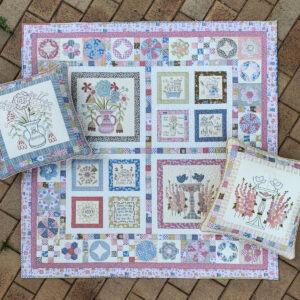 The Birdhouse Designs Quilting Sewing Blume and Grow Quilt Pattern