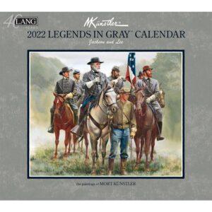 Lang 2022 Calendar Legends in Grey Calender Fits Wall Frame