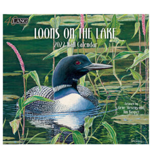 Lang 2022 Calendar Loons on the Lake Calender Fits Wall Frame