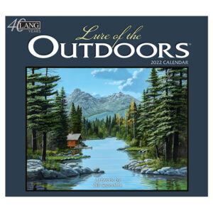 Lang 2022 Calendar Lure of the Outdoors Calender Fits Wall Frame