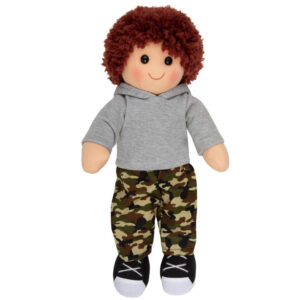 Hopscotch Lovely Soft Rag Doll Tom Boy Dressed Doll Large 35cm