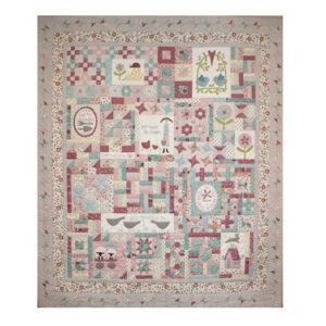 The Birdhouse Designs Quilting Willowbrook Market Garden Quilt Pattern