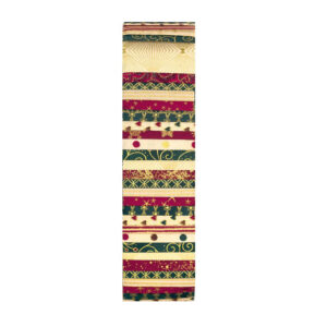 Stof Quilting Jelly Roll Patchwork Traditional Christmas 2.5 Inch Sewing Fabrics
