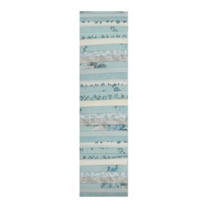 Stof Quilting Jelly Roll Patchwork Floral Teal 2.5 Inch Sewing Fabrics