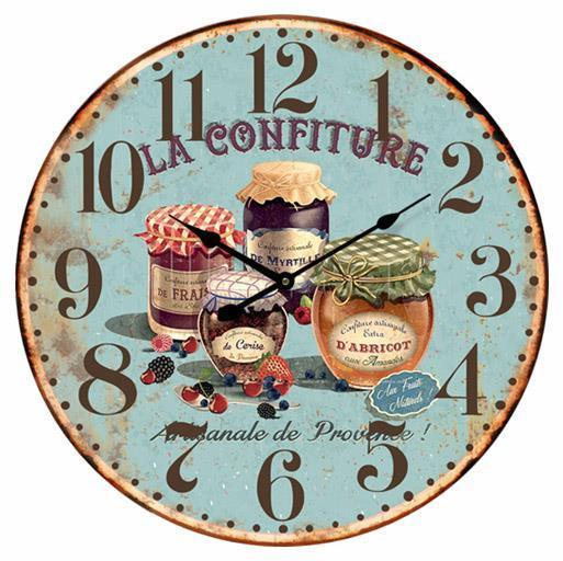 French Country Chic Vintage Inspired Wall Clocks 58CM