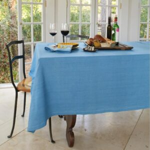 Country Style New Table Cloth KILDARE BLUE Tablecloth RECT 150x230cm New