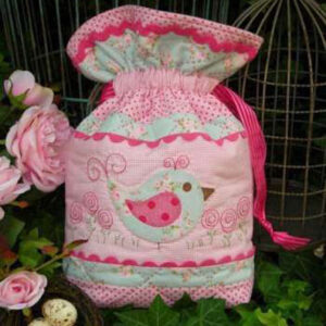 Quilting Sewing Bag Pattern MISS BOSSY BOOTS Sally Giblin Rivendale Collection NEW PATTERN