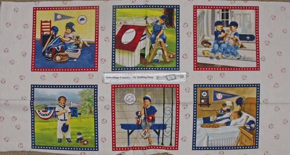 Patchwork quilting sewing cotton fabric boys will be panel for Children s fabric panels