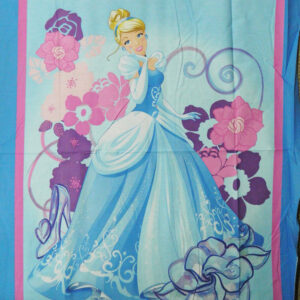 Quilting Patchwork Fabric Sewing Cotton DONALD DUCK DISNEY Panel 90x110cm New...