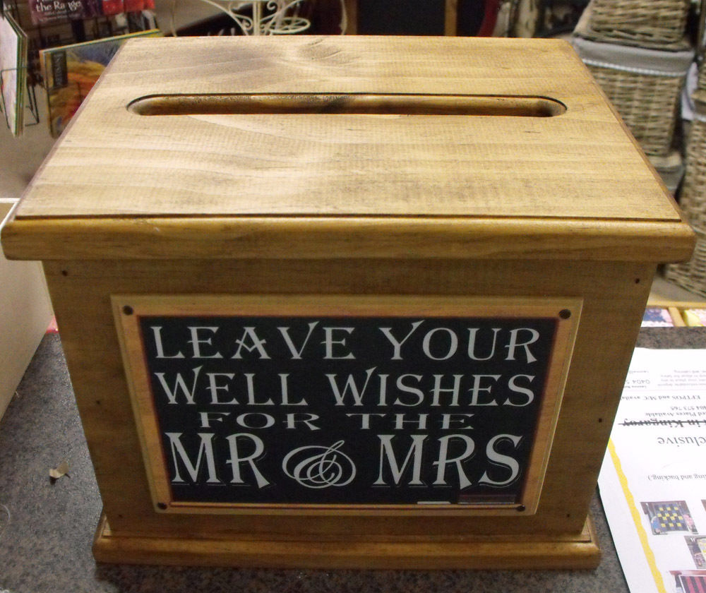 Wooden-Wishing-Well-Wedding-Card-Box-Assort-Sayings-Handmade ...